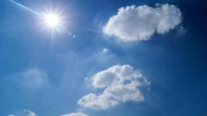 sky sunny clouds cloudy