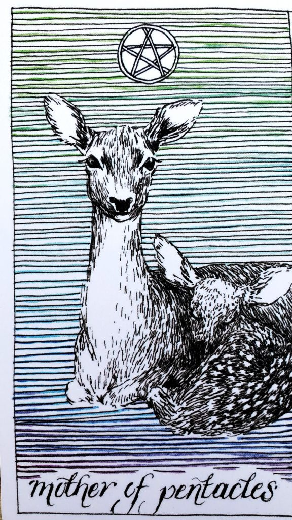 from The Wild Unknown Tarot